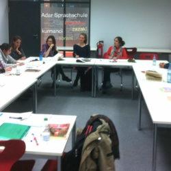 Teilnehmer der Adar Sprachschule